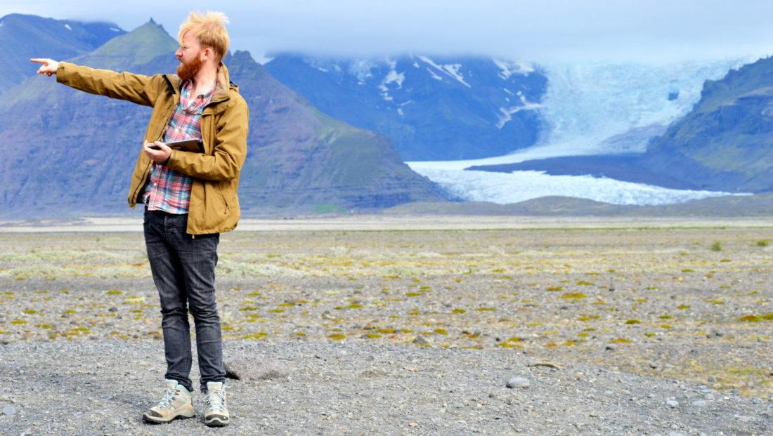 Glacier Ice Skaftafell Road Trip Iceland © CoupleofMen.com