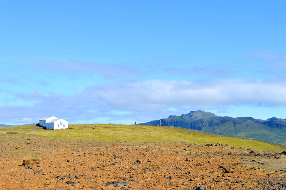 Half Island Dyrhólaey | Gay Couple exploring South Iceland Vík Black Beach © CoupleofMen.com