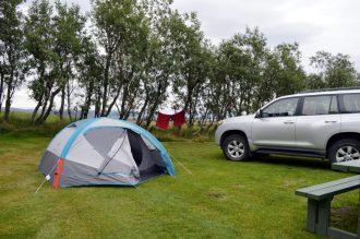 Campsite Kirkjubær & Public Pool   Gay Couple exploring South Iceland Vík Black Beach © CoupleofMen.com