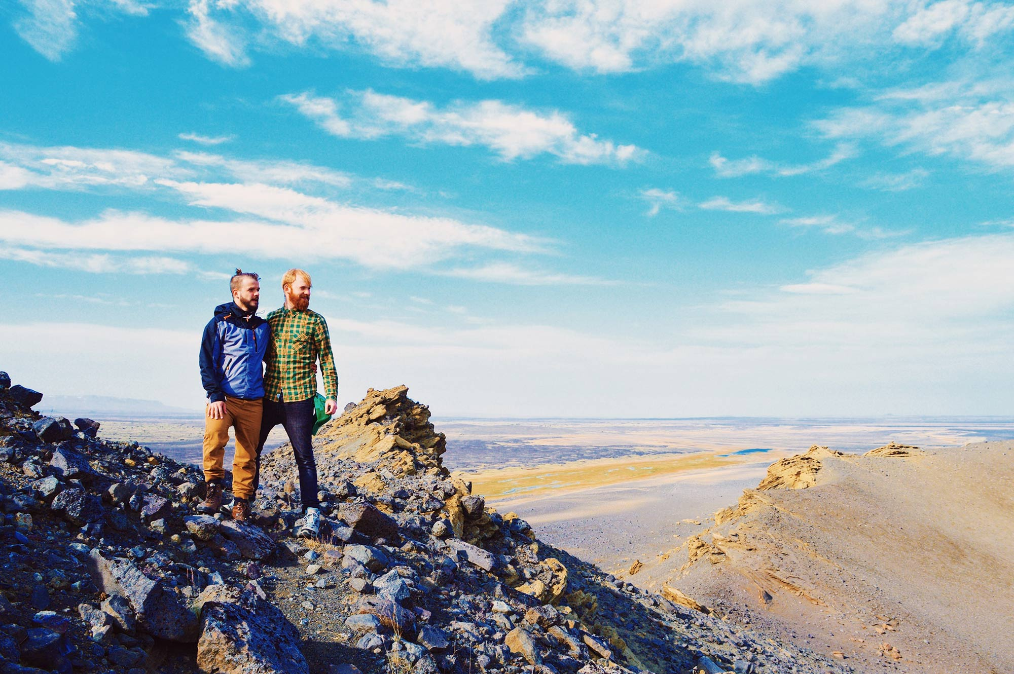 Gay Couple Road Trip East Iceland © CoupleofMen.com