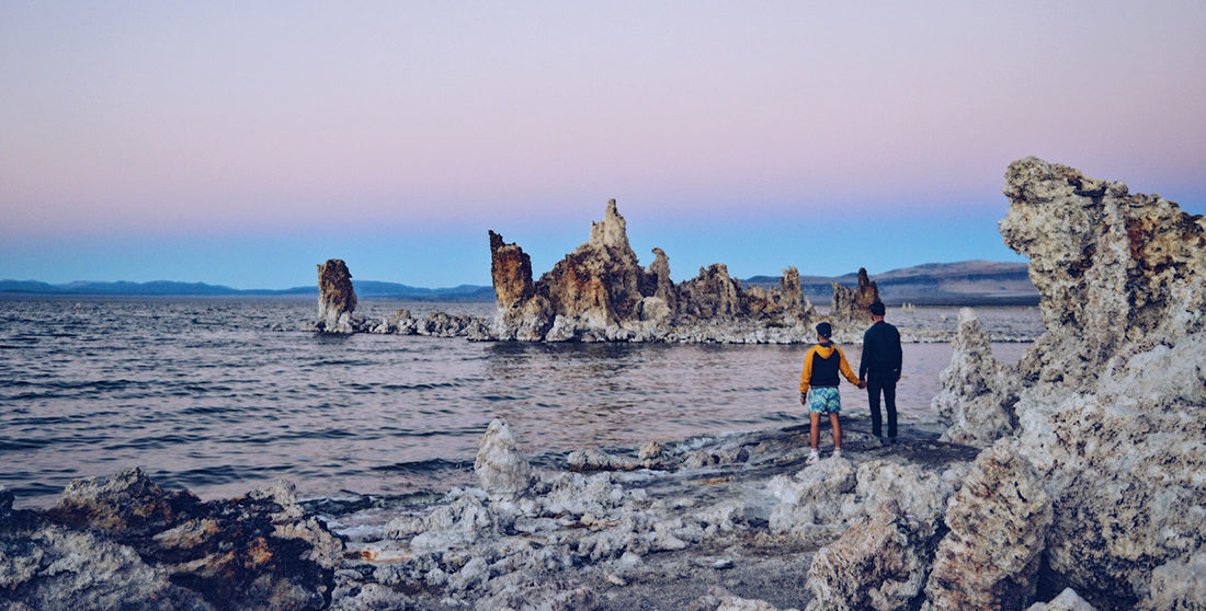 Sunset at Mono Lake | Road Trip USA Highlights American South West © CoupleofMen.com