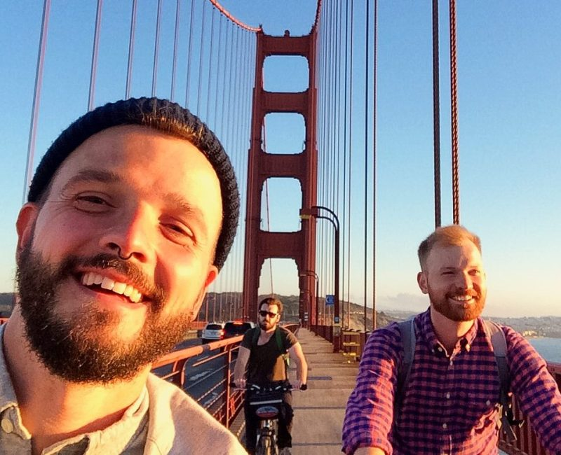 Biking Golden Gate Bridge San Francisco | Our Top 13 Highlights Road Trip South West USA © CoupleofMen.com