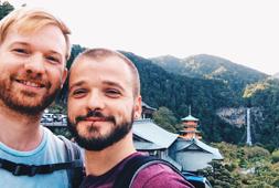 Gay Travel Guides Japan Couple of Men Gay Travel Blog