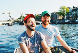 Gay Travel Guides The Netherlands Couple of Men Gay Travel Blog