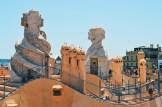 Daan on the roof top   Gay Travel Guide Gaudi Architecture Casa Mila La Pedrera © Coupleofmen.com