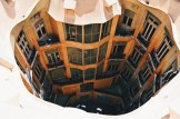 Inner Courtyard   Gay Travel Guide Gaudi Architecture Casa Mila La Pedrera © Coupleofmen.com