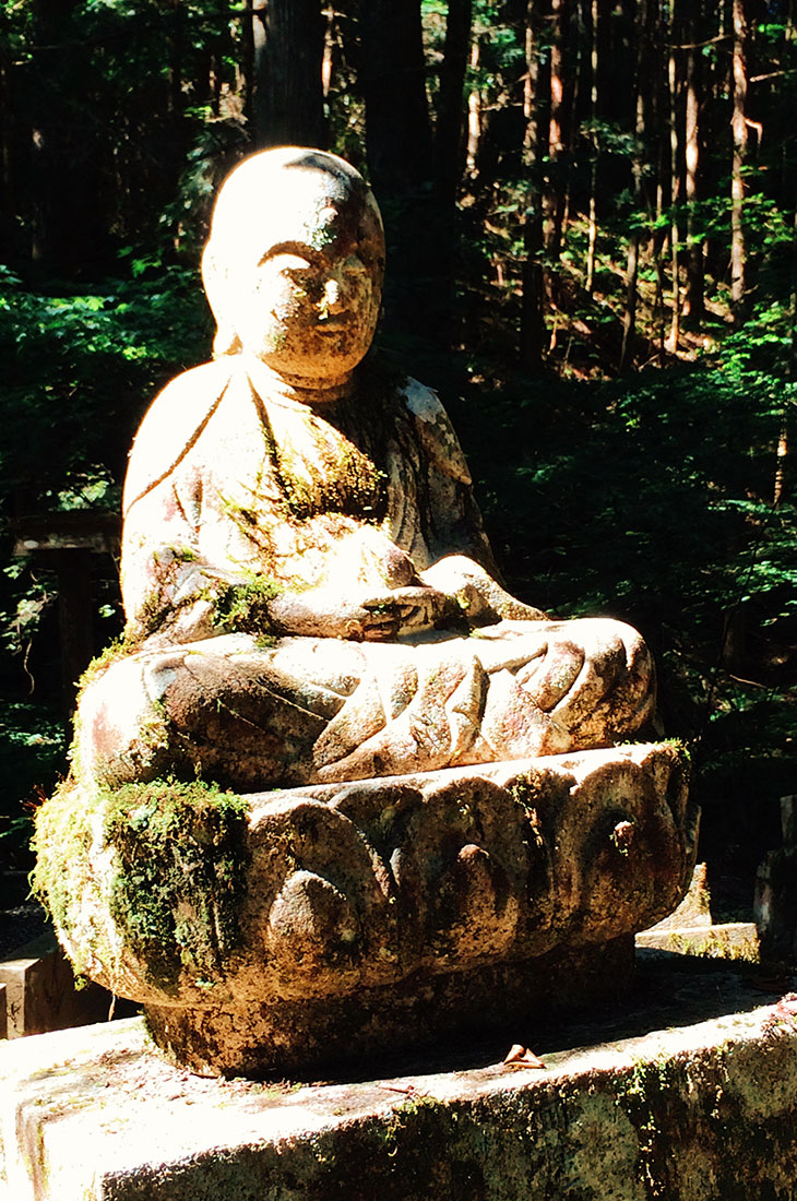 Buddhas are everywhere at Okunoin Cemetery in Koyasan © CoupleofMen.com