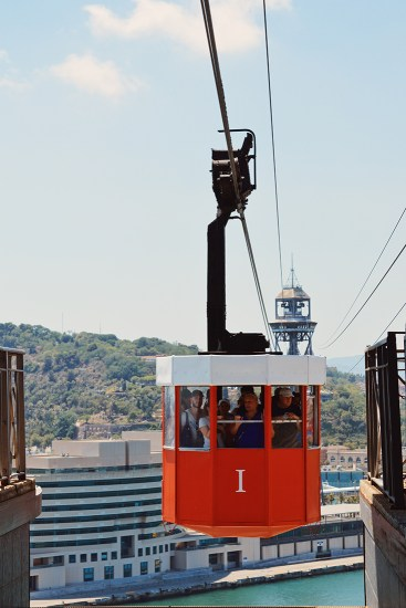 Teleférico del Puerto Port Cable Car Barcelona © CoupleofMen.com