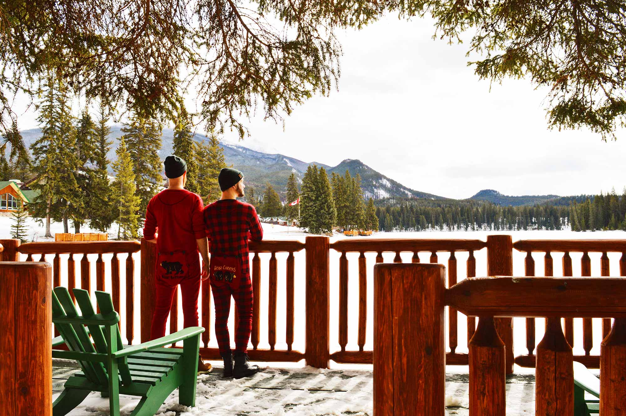 Gay-friendly Fairmont Jasper Park Lodge Fairmont Jasper Park Lodge Alberta Canada © CoupleofMen.com