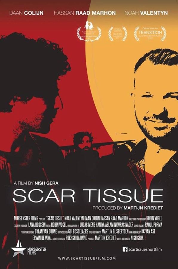 Film Poster 1   Scar Tissue Dutch Gay Short Movie 2017 with Daan Colijn and Noah Valentyn   Morgenster Films