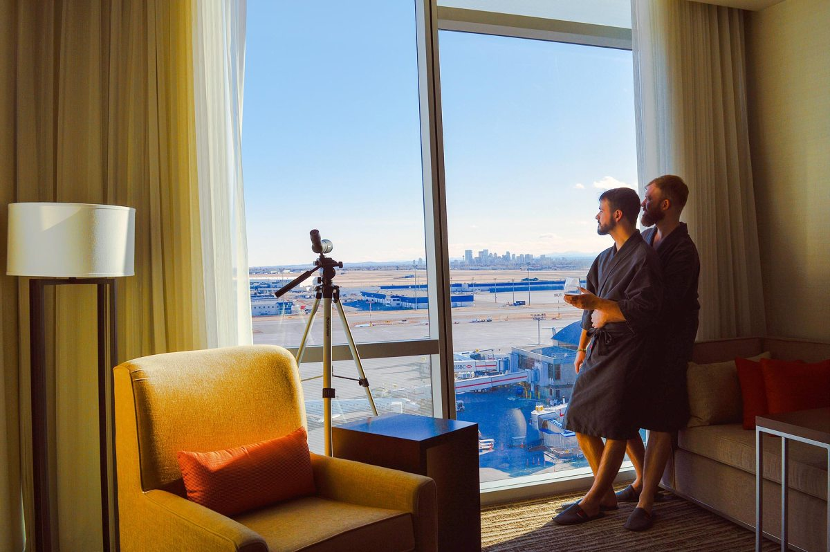 Treat yourself to an In-Terminal Marriott Hotel Stay at Calgary Airport | Canada