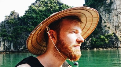 Gay Travel Adventure Vietnam Explorer Daan on our Halong Bay Adventure | Top Highlights Best Photos Gay Couple Travel Vietnam © CoupleofMen.com