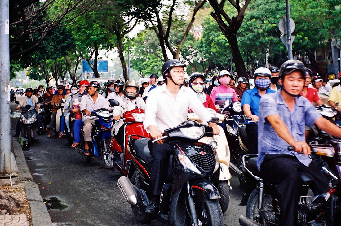 Street Life Ho Chi Minh City | Top Highlights Best Photos Gay Couple Travel Vietnam © CoupleofMen.com