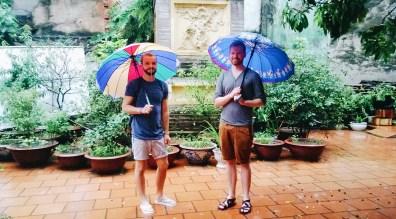 Rainbow Umbrellas in Hanoi | Top Highlights Best Photos Gay Couple Travel Vietnam © CoupleofMen.com