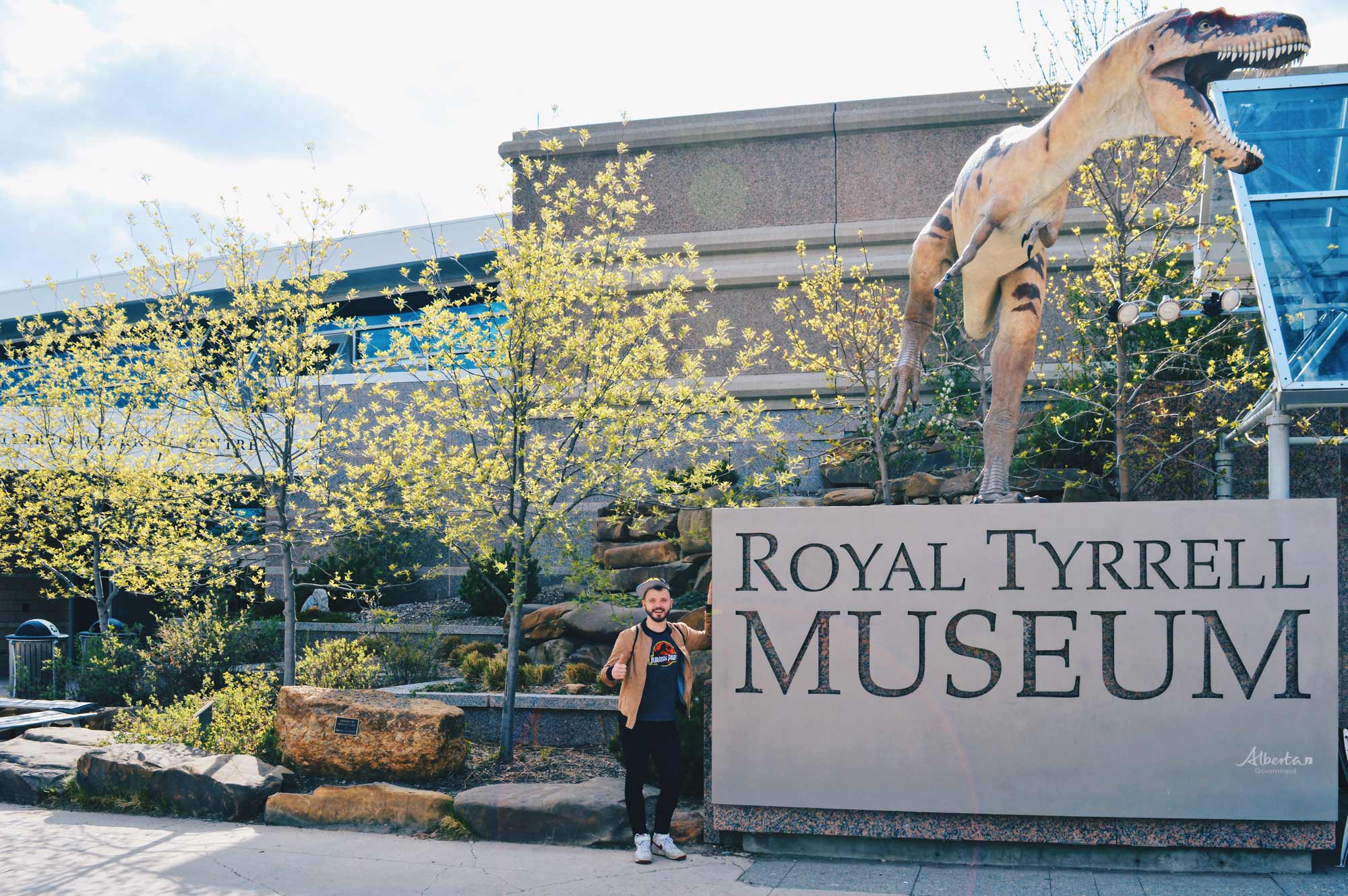 Dinosaurs Royal Tyrrell Museum Palaeontology Drumheller Alberta Canada © CoupleofMen.com