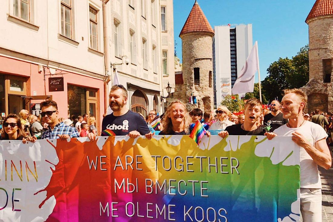 Baltic Pride 2017 Tallinn Best Powerful LGBTQ Photos © CoupleofMen.com