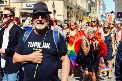 Give your Pride a voice! | Baltic Pride 2017 Tallinn Best Powerful LGBTQ Photos © CoupleofMen.com