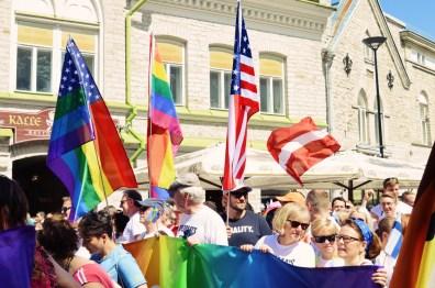 Diplomats for Equality attending Baltic Pride 2017 Tallinn Best Powerful LGBTQ Photos © CoupleofMen.com