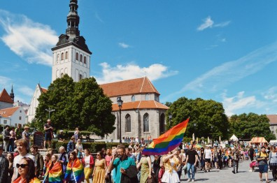 Free open air concert after Baltic Pride 2017 Tallinn Best Powerful LGBTQ Photos © CoupleofMen.com