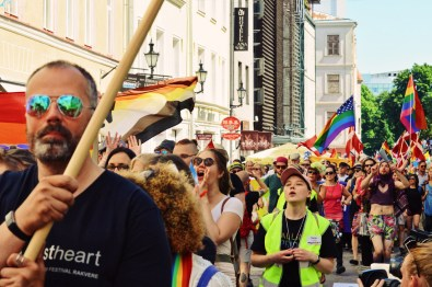 More than 1800 participants celebrating love and equality during Baltic Pride 2017 Tallinn Best Powerful LGBTQ Photos © CoupleofMen.com