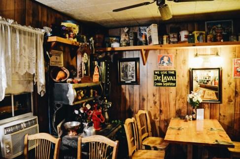 Dinner at Virginia Creek Settlement Restaurant | Ghost Town Bodie State Historic Park California © CoupleofMen.com