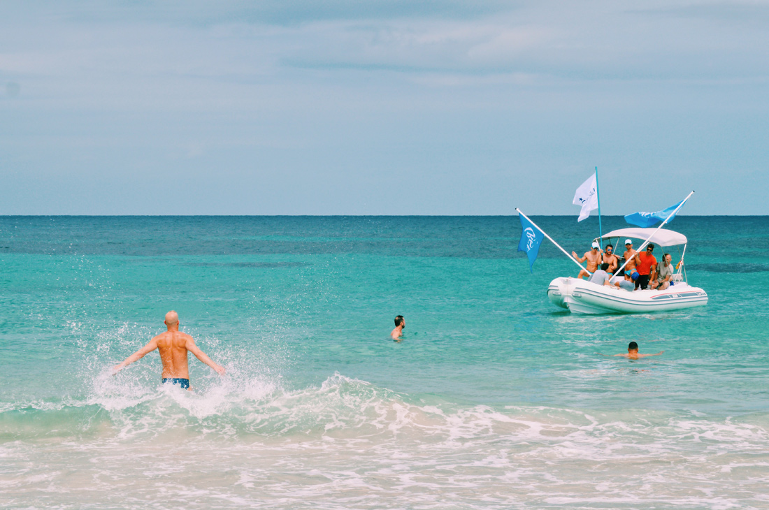 Turquoise Blue Mediterranean Sea | Gay Couple Travel Gay