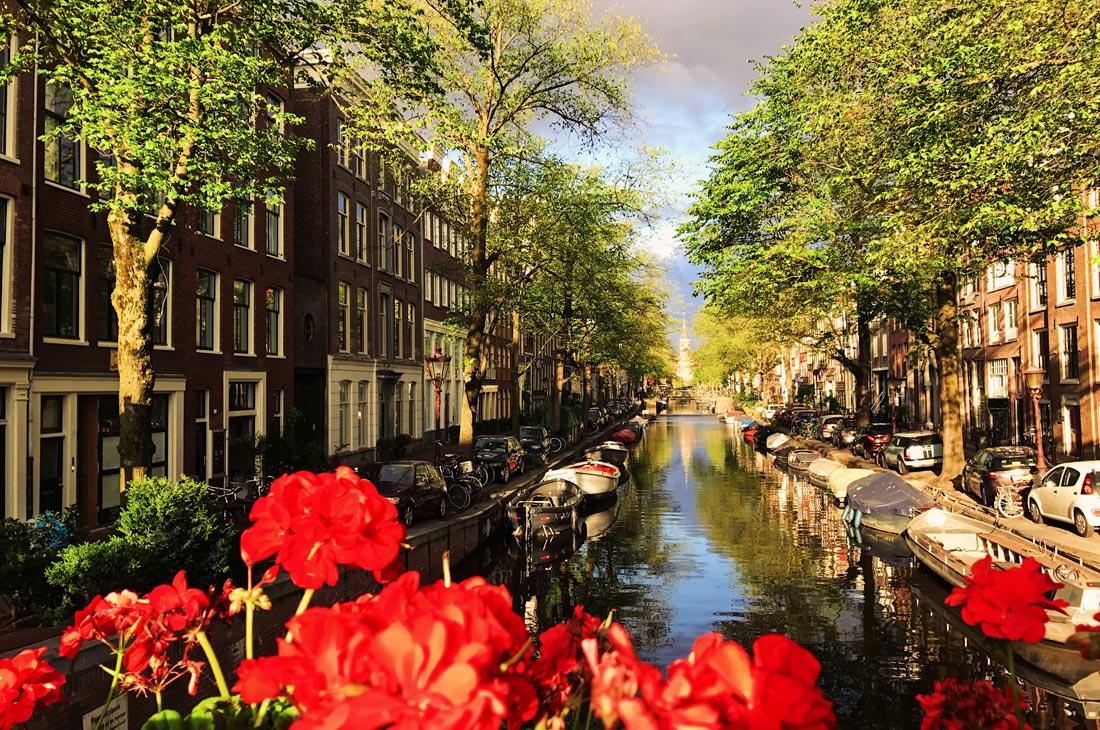 Gay Fahrradtour Amsterdam Muiden Pampus Bloemengracht Amsterdam | Gay Couple Biking Tour Fort Island Pampus © CoupleofMen.com