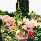 Flower gardens in Muiden | Gay Couple Biking Tour Fort Island Pampus © CoupleofMen.com