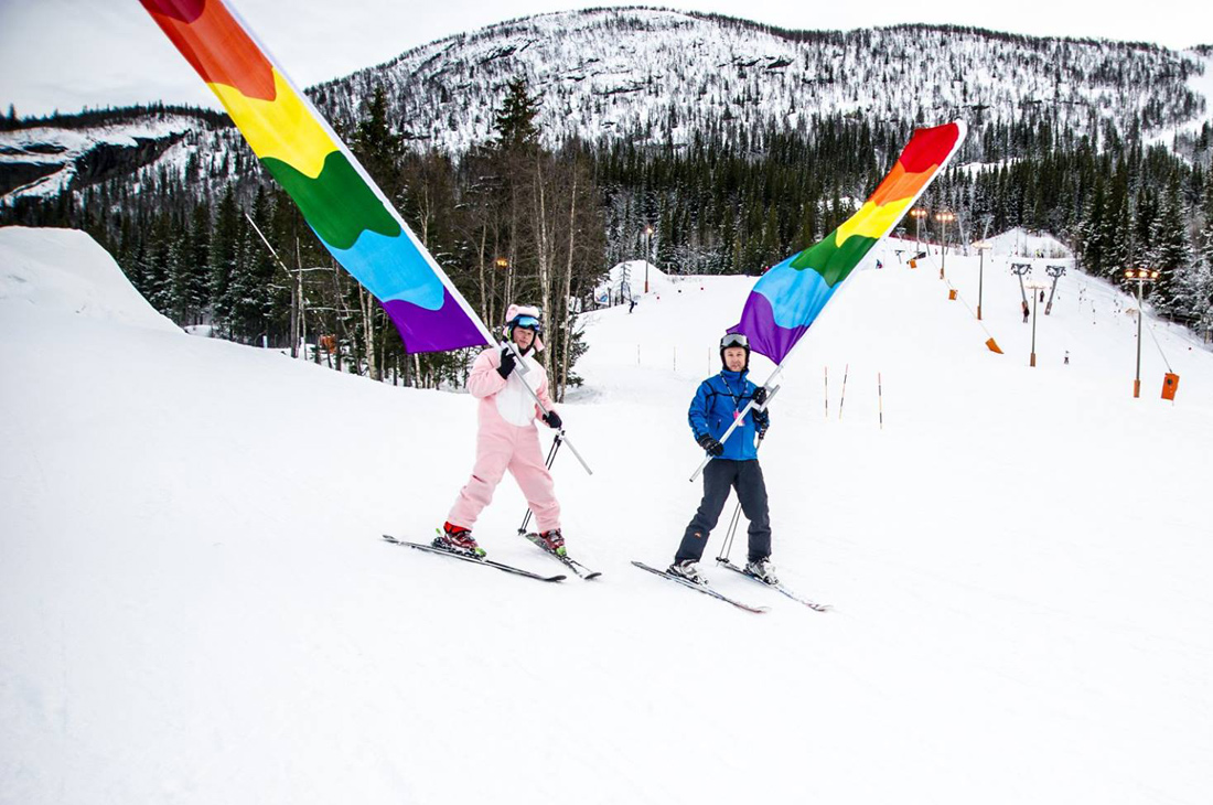 Skeive ski - Scandinavian Ski Pride | Top 13 Best Gay Ski Weeks Worldwide © Skeive ski
