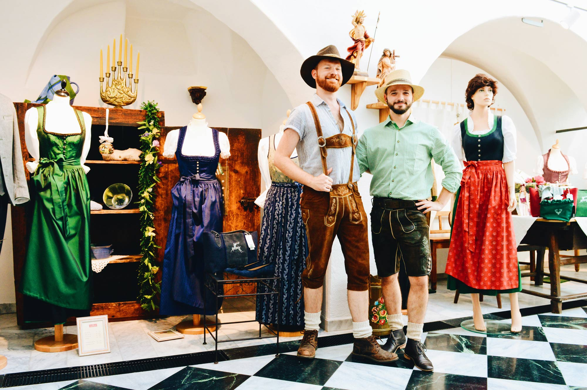 Lederhosen Tips Traditional Austrian Garments © CoupleofMen.com