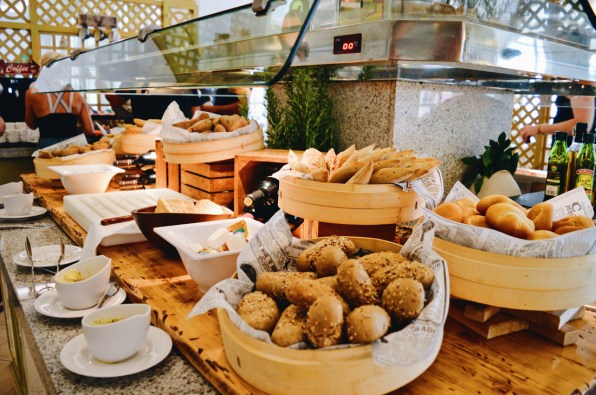 Bread and cheese buffet | The Level Meliá Villaitana Benidorm gay-friendly © CoupleofMen.com