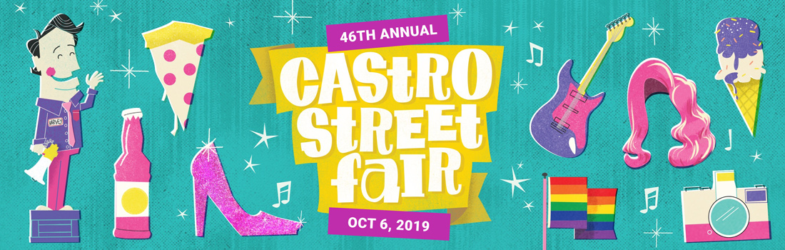 Photos Castro Street Fair 2019