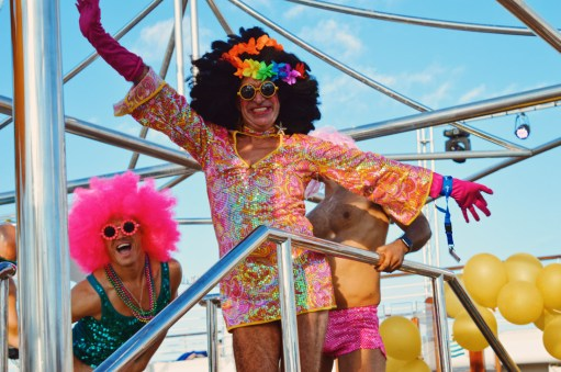I am the Disco Queen of the World | Disco T-Dance Party The Cruise 2017 © CoupleofMen.com