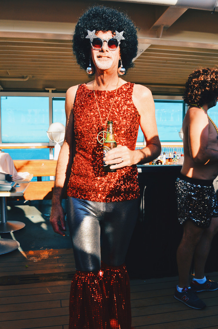 Wow, simply wow! | Disco T-Dance Party The Cruise 2017 © CoupleofMen.com