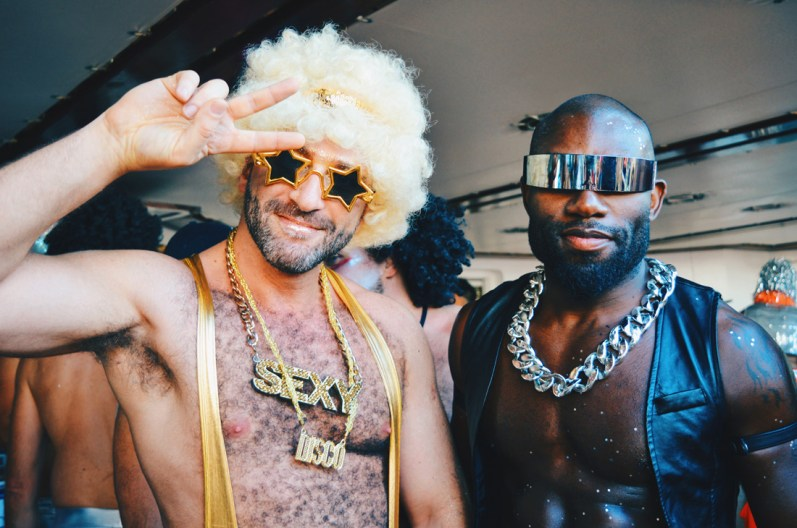 The sexiest Disco Men of the Cruise | Disco T-Dance Party The Cruise 2017 © CoupleofMen.com