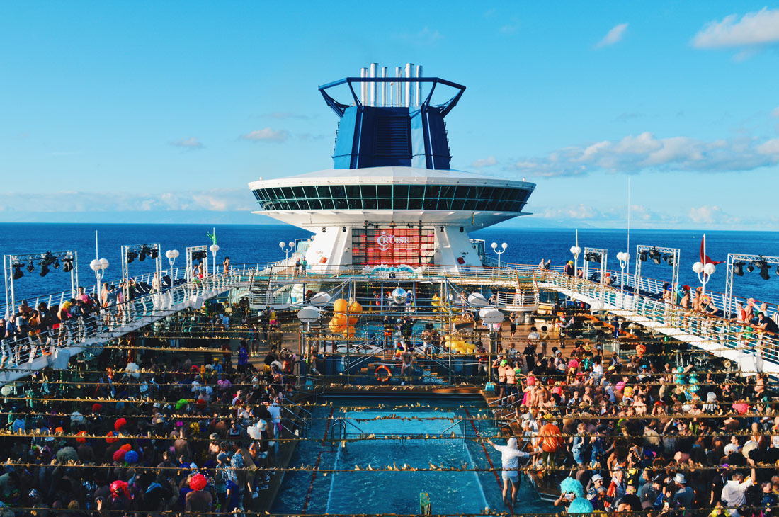 Disco from Sunset to damn | Disco T-Dance Party The Cruise 2017 © CoupleofMen.com