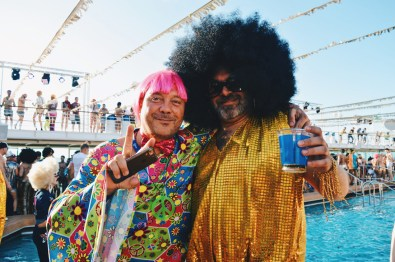 Peace and Harmony | Disco T-Dance Party The Cruise 2017 © CoupleofMen.com