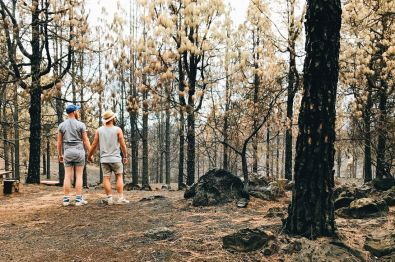 After the bushfires on Gran Canaria © CoupleofMen.com