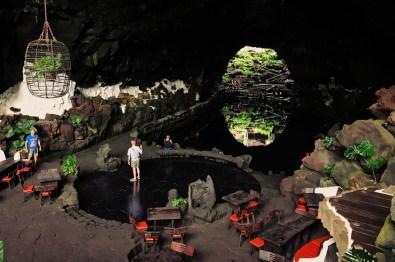Underground Lava Lake at Jameos del Agua Lava Tube, Lanzarote © CoupleofMen.com