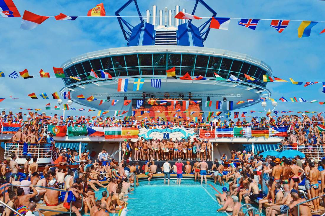 That's the best Photo of The Cruise 2017 | Gay Couple Travel Diary The Cruise 2017 © CoupleofMen.com