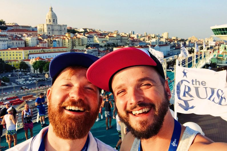 OMG We are so super excited! | Gay Couple Travel Diary The Cruise 2017 © CoupleofMen.com