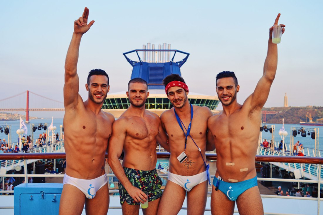 Let's sail away for The Cruise 2017 | Gay Couple Travel Diary The Cruise 2017 © CoupleofMen.com