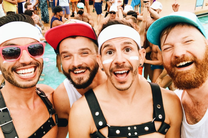 First time together: CoupleofMen with the TwoBadTourists Auston & David | Gay Couple Travel Diary The Cruise 2017 © CoupleofMen.com