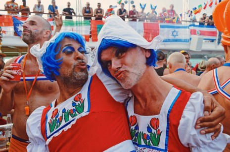 Our beloved friends from Amsterdam   Where are you from Party The Cruise 2017 © CoupleofMen.com