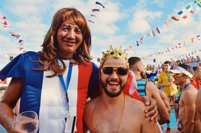 What a Big French Man | Where are you from Party The Cruise 2017 © CoupleofMen.com