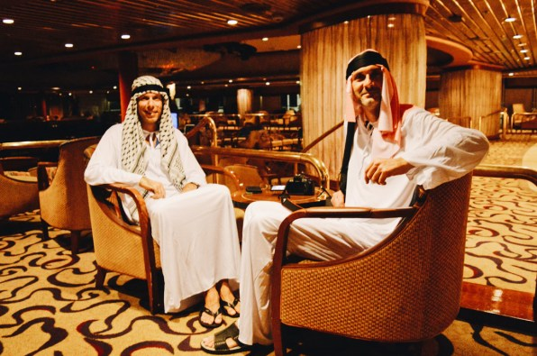 Lounging Emirates | Gay Couple Travel Diary The Cruise 2017 © CoupleofMen.com