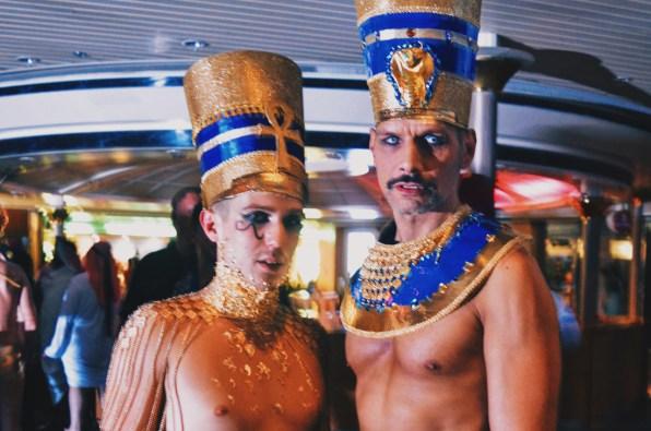 Egyptian kings of the night © CoupleofMen.com