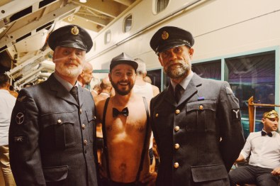 Gala nights with Karl and two captains from London | Gay Couple Travel Diary The Cruise 2017 © CoupleofMen.com