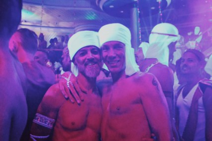 Arabian Night Moments | Gay Couple Travel Diary The Cruise 2017 © CoupleofMen.com
