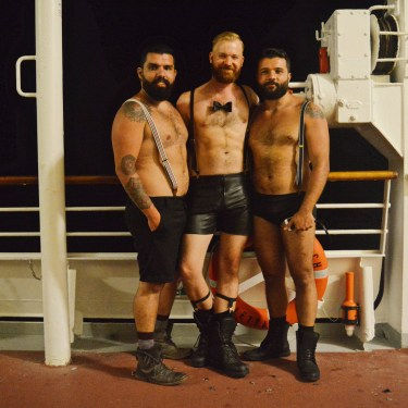 Chic for the Gala Night | Gay Couple Travel Diary The Cruise 2017 © CoupleofMen.com